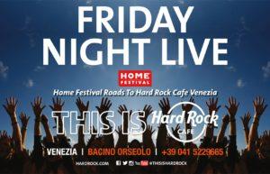HARD ROCK CAFE: Friday Night Live – September 2018