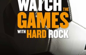 World Cup from 14.06 to 15.07 ! Watch the Match with HARD ROCK