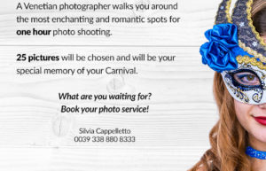 Venetian Carnival – Photo Shooting Experience