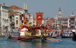 Historical Regatta, Sunday Sept. 6th – Terrace on the Gran Canal, Ca' Sagredo Hotel